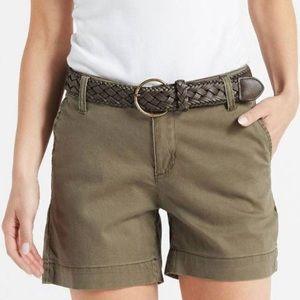NWT One 5 One Olive Shorts w/ Belt